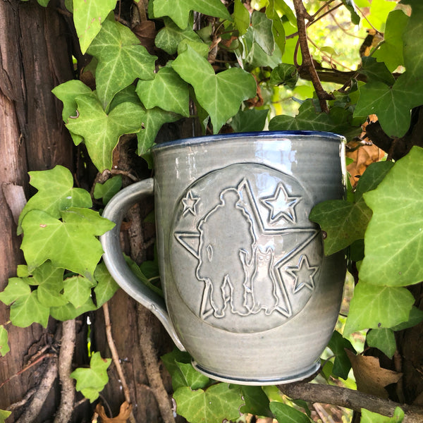 Spike's K9 Fund Handmade Clay Coffee Mug