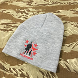 Spike's K9 Fund Knit Beanie - Grey