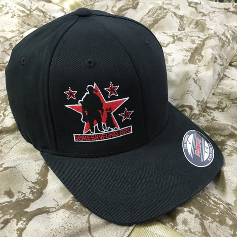 Spike's K9 Fund Flex-Fit Hat - Black