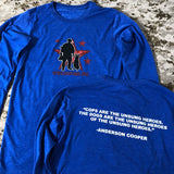 Spike's Special Edition Anderson Cooper Long Sleeve Shirt
