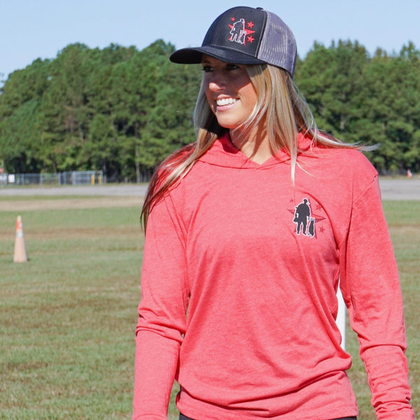 Spike's K9 Fund - Their Needs Are Our Mission - Hooded Long Sleeve