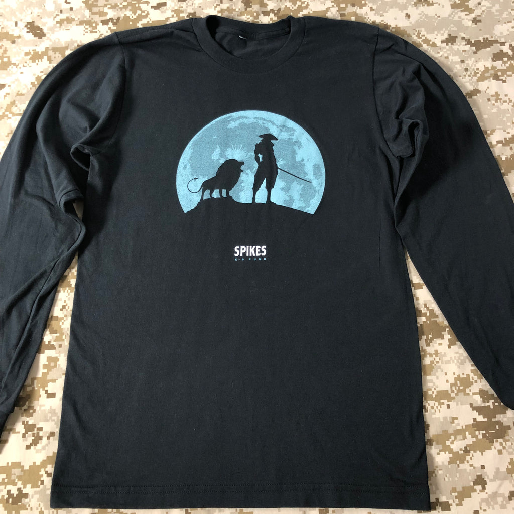 Ninjas with Lions Long Sleeve Shirt