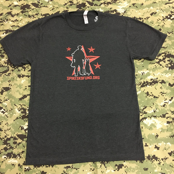 Spike's K9 Fund Original Logo Shirt - Black