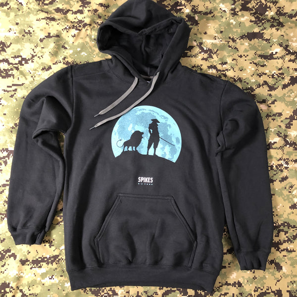 Spike's K9 Fund - Ninjas with Lions Hoodie