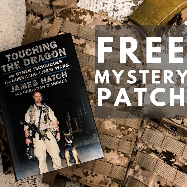 Signed Copy of Touching the Dragon + Mystery Patch