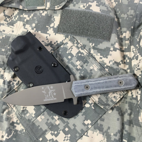 Eaton Tactical Innovations - Custom Spike's K9 Fixed Blade Knife