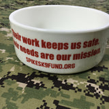 Spike's K9 Fund Dog Bowl - Large