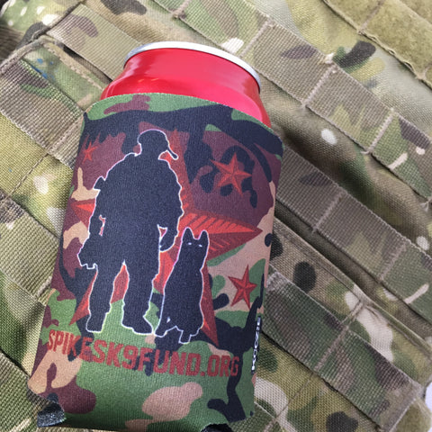 Spike's K9 Fund Camo Koozie