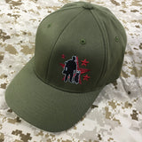 Spike's K9 Fund Flex-Fit Hat - Ranger Green