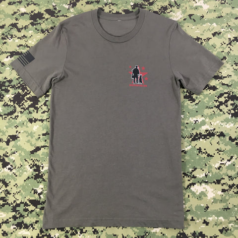 Spike's K9 Fund Logo Shirt - Ranger Green