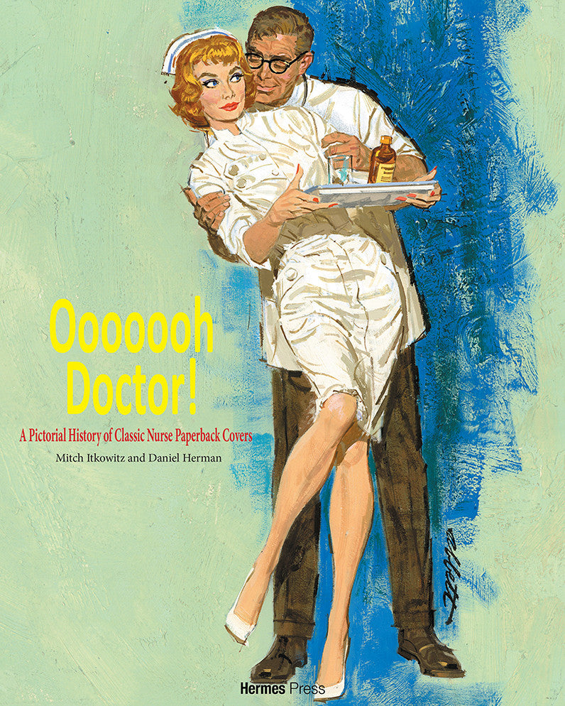 Ooooooh Doctor A Pictorial History Of Classic Nurse Paperback Covers PRE ORDER
