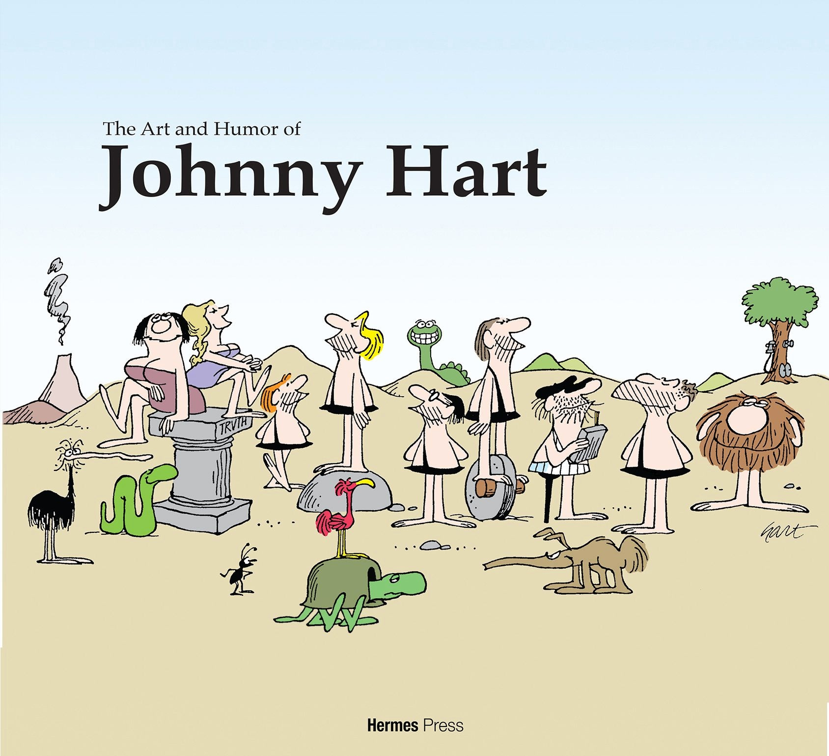The Art And Humor Of Johnny Hart Pre Order Hermes Press