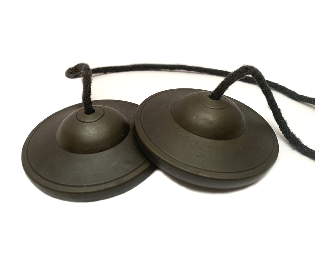 FIVE METAL MEDITATION CYMBAL ( TINGSHA)