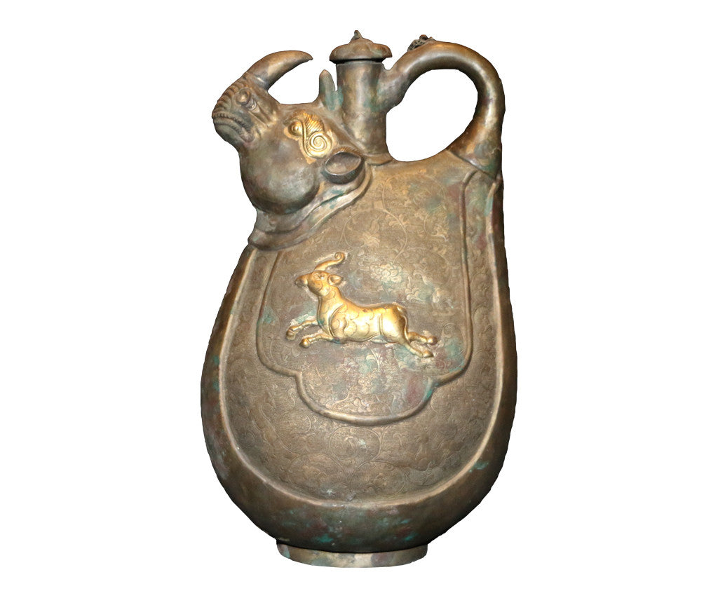 Dragon Horse Tea Pot - Tibet Arts & Healing