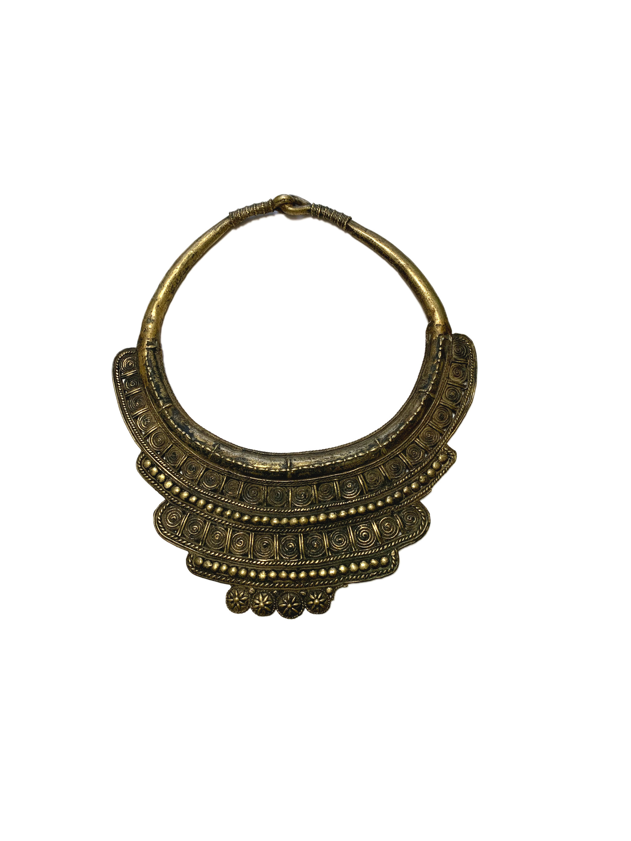 Antique Dhokra Tribal Necklace
