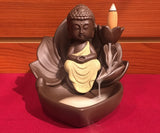 Backflow Incense Burner Waterfall-Buddha - Tibet Arts & Healing