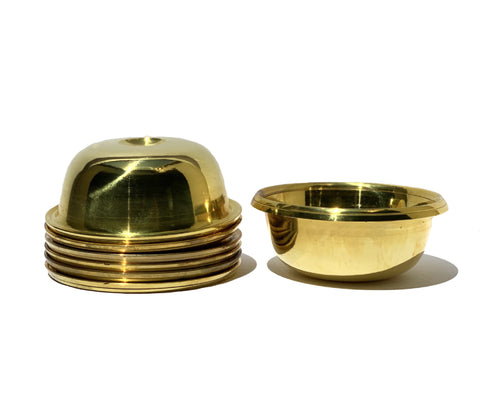 Brass Offering Bowl Set