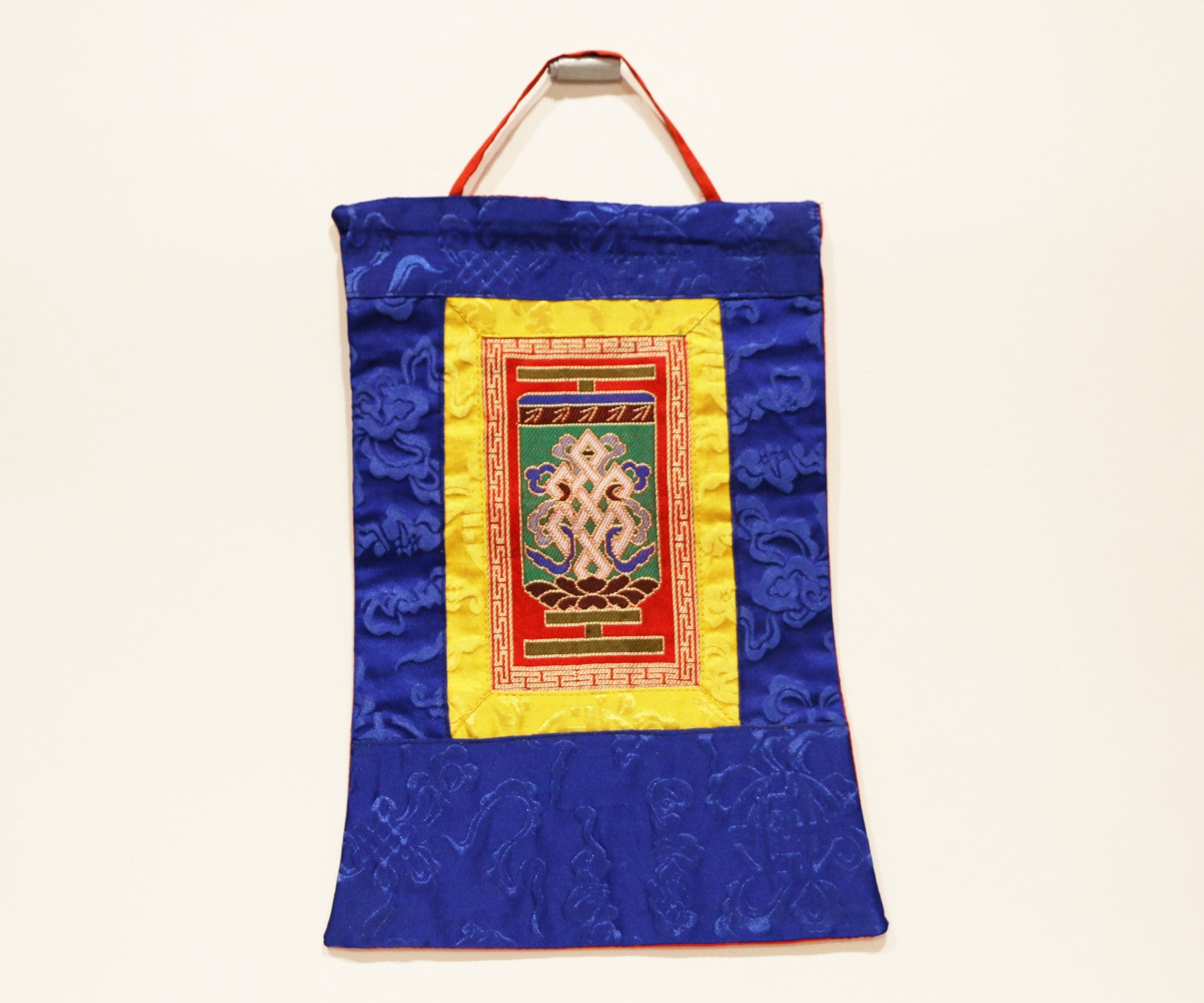 Mini Endless knot Thangka - Tibet Arts & Healing