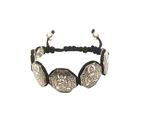 Five family Buddha bracelet