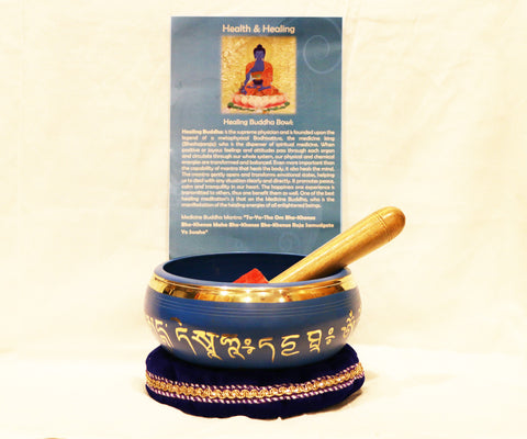 (Health and Healing) Singing Bowl - Tibet Arts & Healing