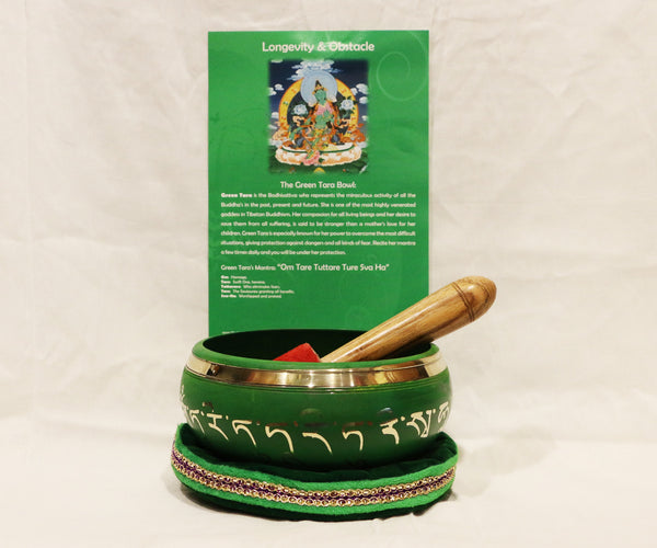 (Longevity & Obstacle) Singing Bowl - Tibet Arts & Healing