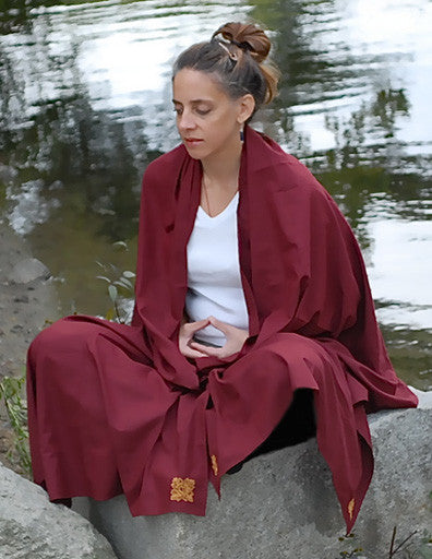 Meditation Shawls (Poly Cotton) - Tibet Arts & Healing