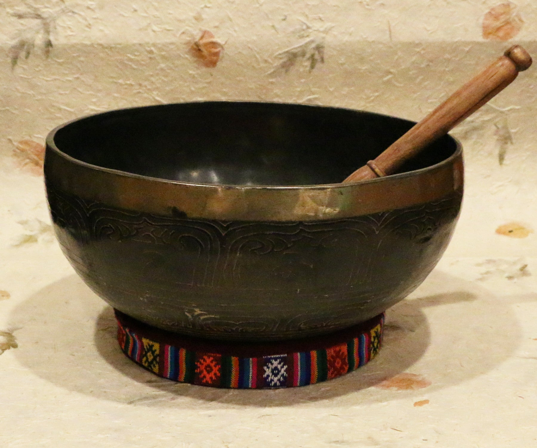 Old Buddha Singing Bowl - Tibet Arts & Healing