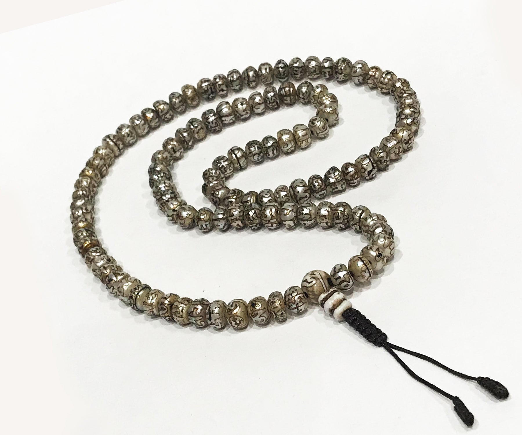 Old Fresh Water Pearl Mala - Tibet Arts & Healing