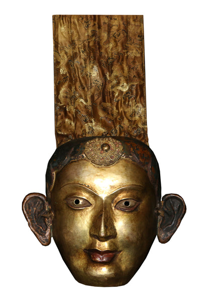 Old Tibetan Ceremonial Mask - Tibet Arts & Healing