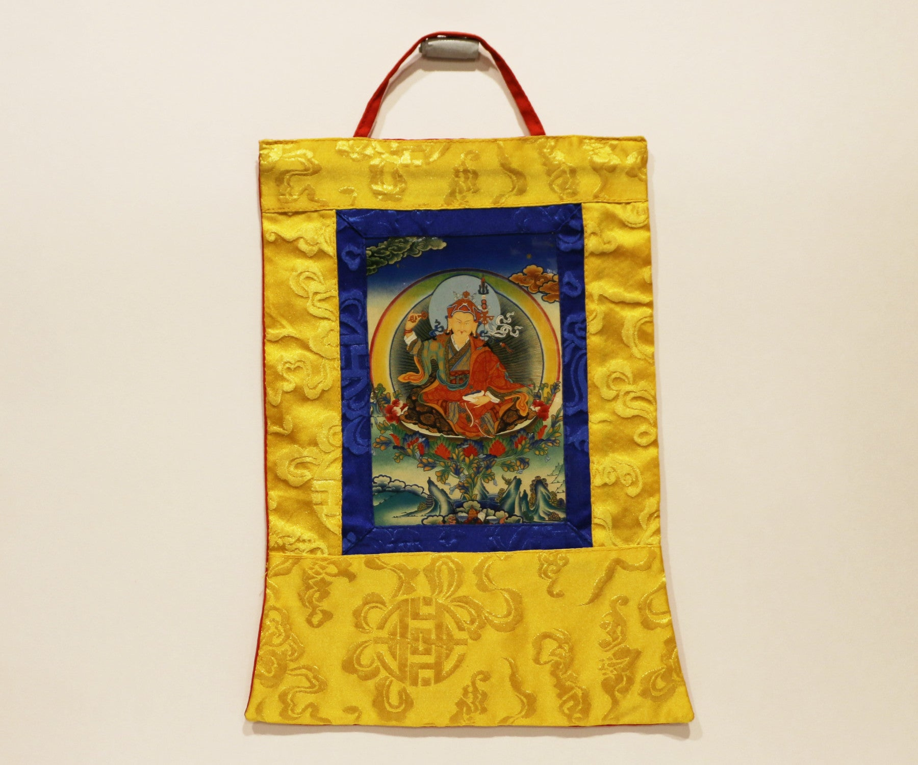 Mini Obstacles & Protection (Padmasambhava) Thangka - Tibet Arts & Healing