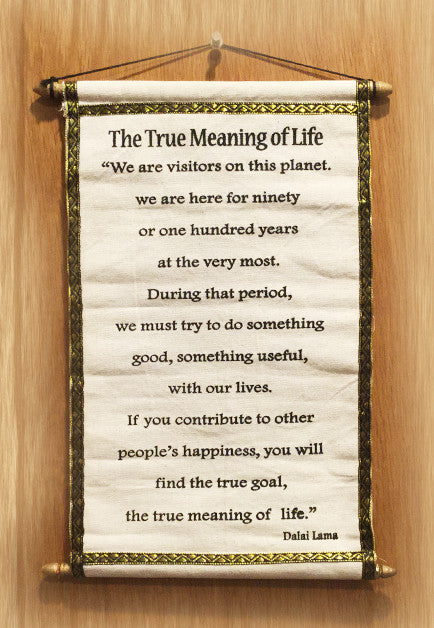 The True Meaning of Life - Tibet Arts & Healing