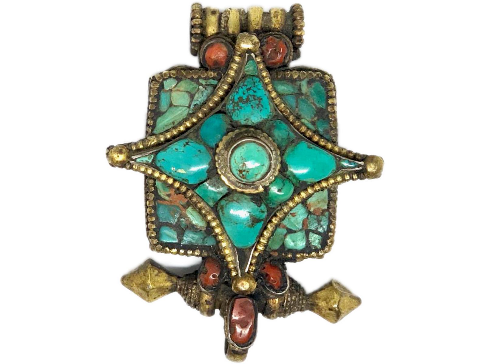 Tibetan Charm Gau Locket