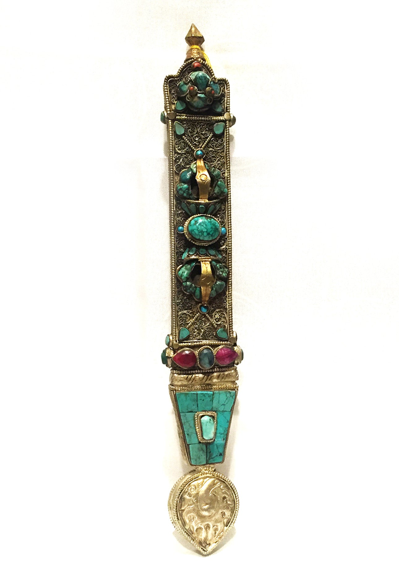 Tibetan traditional noble man's dagger - Tibet Arts & Healing