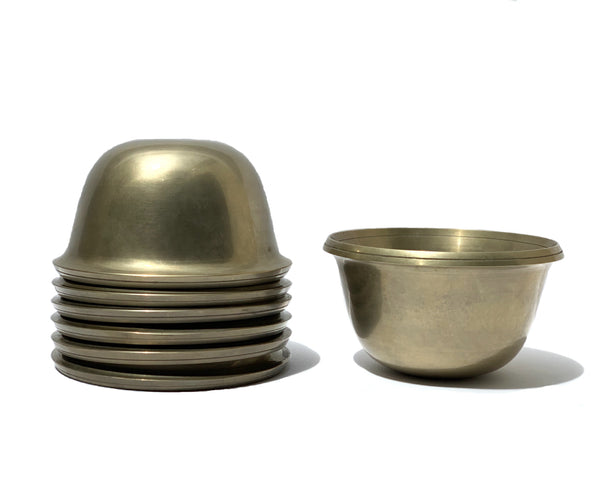 Bronze Offering Bowl Set