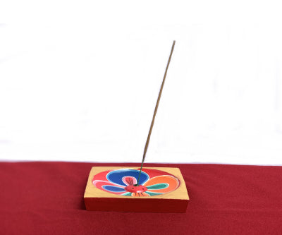 LOTUS INCENSE HOLDER (WOODEN)