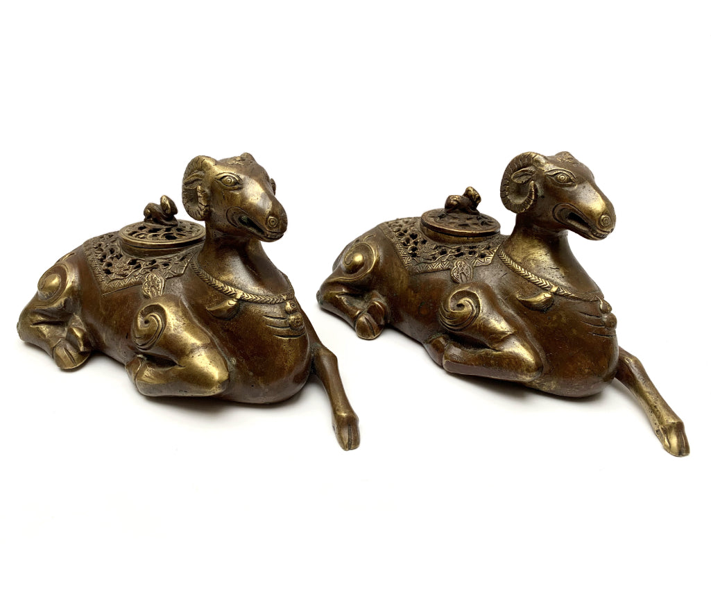 LUCKY SHEEP INCENSE BURNERS
