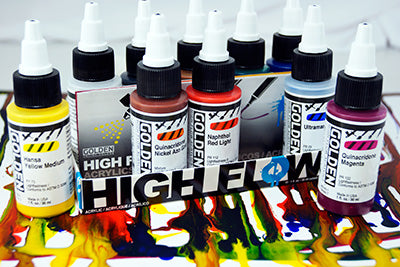 Golden High Flow Acrylic Sets - Wyndham Art Supplies