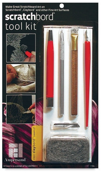 Ampersand Scratchbord Tool Kit - Wyndham Art Supplies