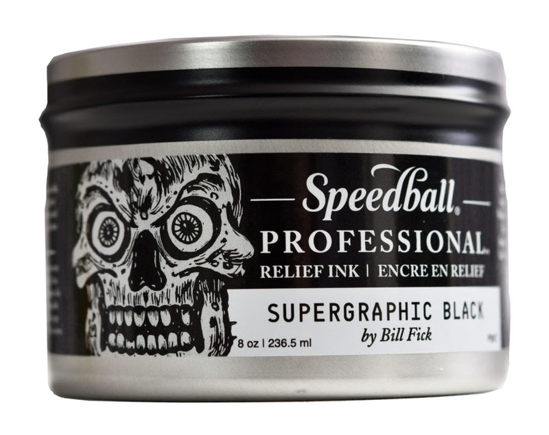 Speedball Pro Relief Ink Black - Wyndham Art Supplies