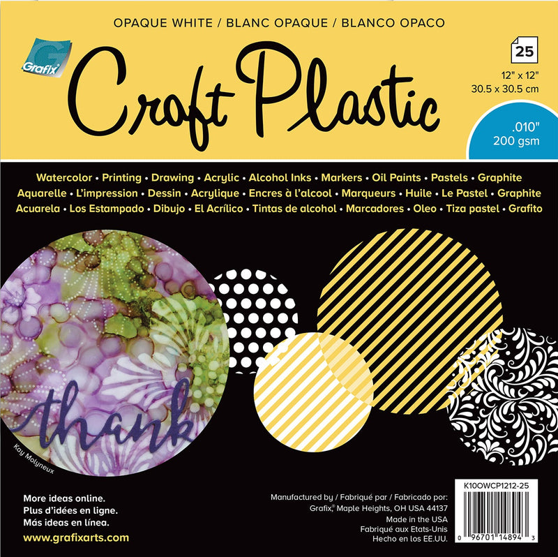 Grafix Craft Plastic - Wyndham Art Supplies