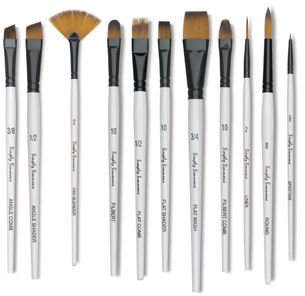 Simply Simmons WC Brushes - Wyndham Art Supplies