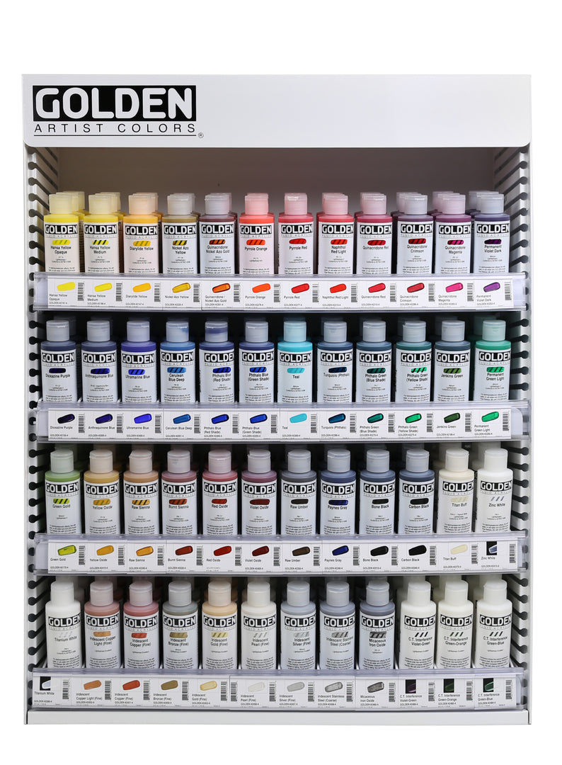 Golden Fluid Acrylics 4oz - Wyndham Art Supplies