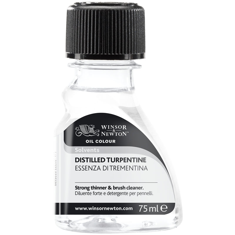 W/N Distilled Turpentine 75ml - Wyndham Art Supplies