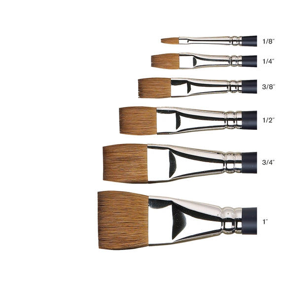 W&N Artist Sable W/C brushes - Wyndham Art Supplies