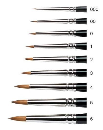 W&N Series 7 Mini-Brushes - Wyndham Art Supplies