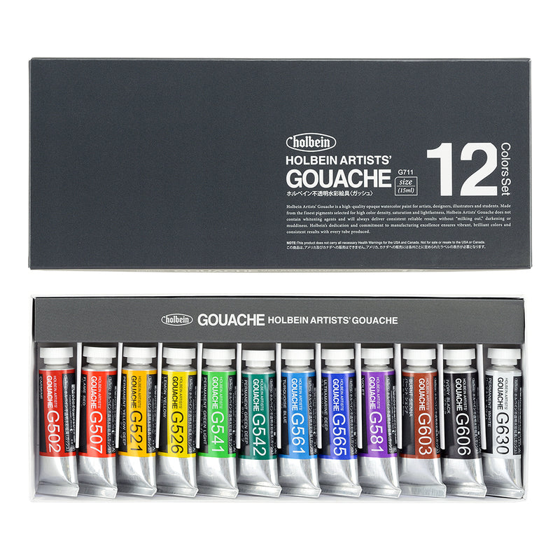Holbein Designer Gouache Sets - Wyndham Art Supplies