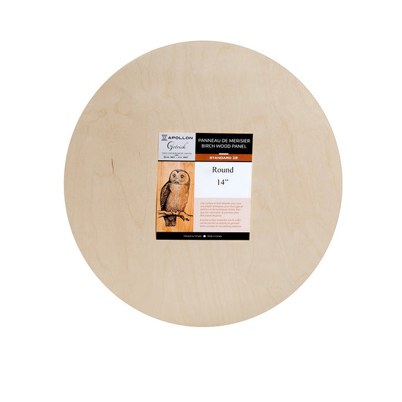 Wood Panel Round - Wyndham Art Supplies