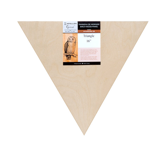 Wood Panel Triangles - Wyndham Art Supplies