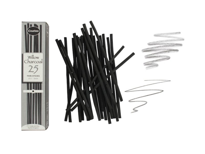 Coates Charcoal Willow - Wyndham Art Supplies