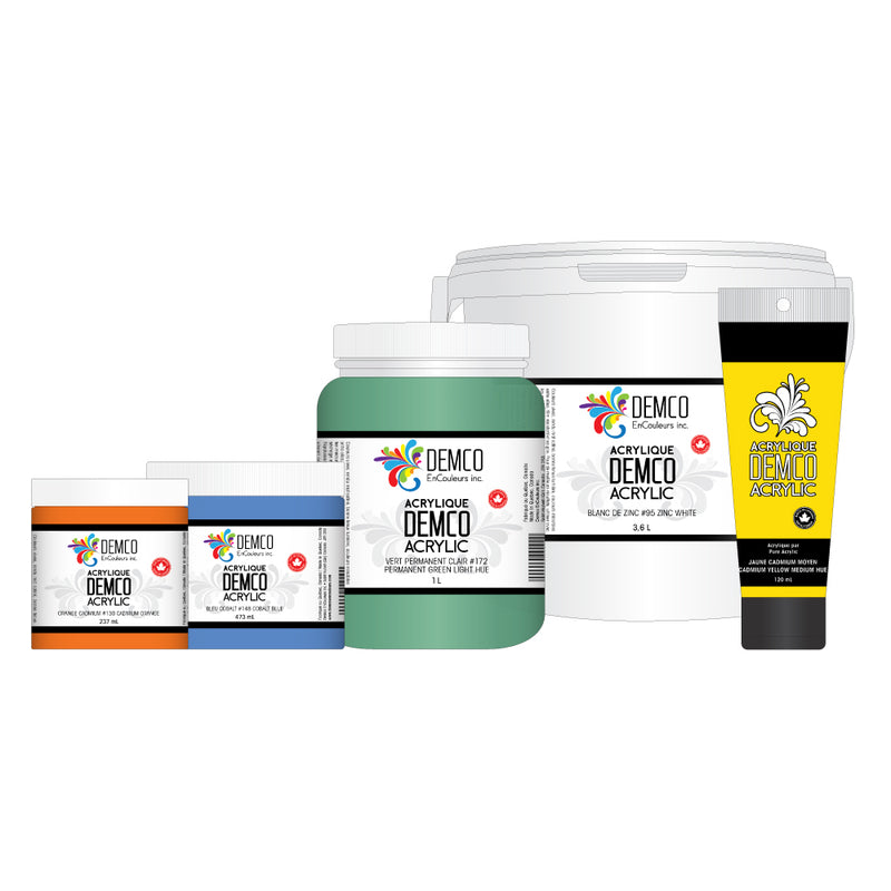 Demco Acrylic Paint - Wyndham Art Supplies